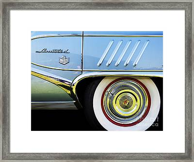 1958 Buick Limited Framed Print by Tim Gainey