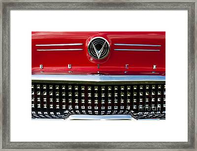 1958 Buick Special Car Framed Print by Tim Gainey