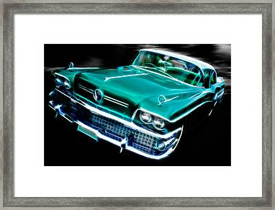 1958 Buick Special Framed Print by Phil 'motography' Clark