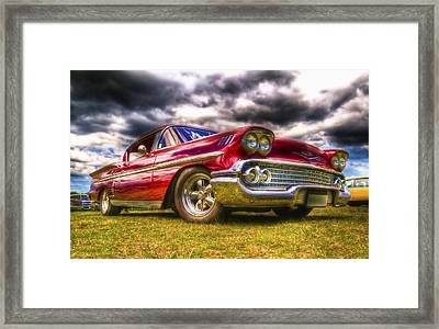 1958 Chevrolet Impala Framed Print by Phil 'motography' Clark