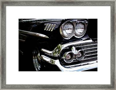 1958 Chevy Bel Air Framed Print by David Patterson