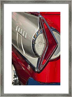 1958 Edsel Wagon Tail Light Framed Print by Jill Reger