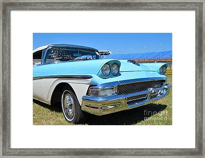 1958 Ford Framed Print