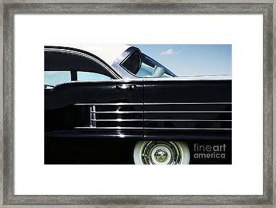1958 Oldsmobile Dynamic 88 Framed Print by Tim Gainey
