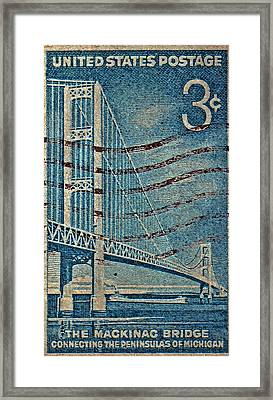 1958 The Mighty Mac Stamp Framed Print