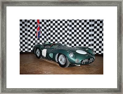 Framed Print featuring the photograph 1959 Aston Martin Dbr1 by Boris Mordukhayev