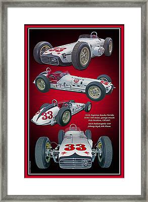 1959 Bowes Seal Fast Spl. Framed Print by Ed Dooley