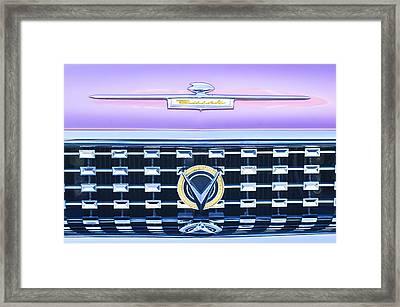 1959 Buick Lesabre Hood Emblem Framed Print