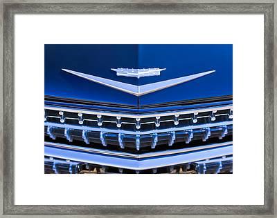 1959 Cadillac Eldorado Hood Ornament Framed Print by Jill Reger