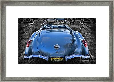 1959 Chevrolet Corvette Framed Print by Lee Dos Santos