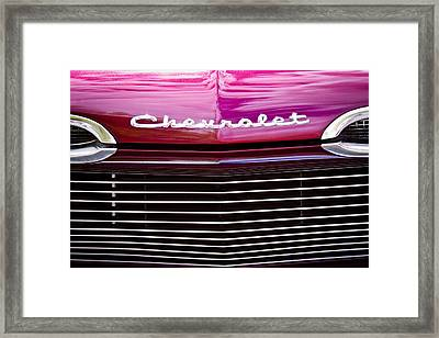 1959 Chevy Biscayne Framed Print by David Patterson