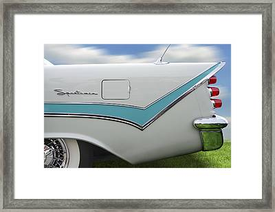 1959 Desoto Sportsman Framed Print by Mike McGlothlen