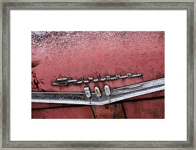 1959 Ford Fairlane 500 Galaxie Framed Print by Gordon Dean II