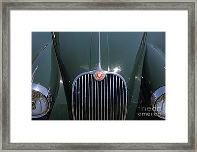 1959 Jaguar Xk150 Dhc 5d23301 Framed Print by Wingsdomain Art and Photography