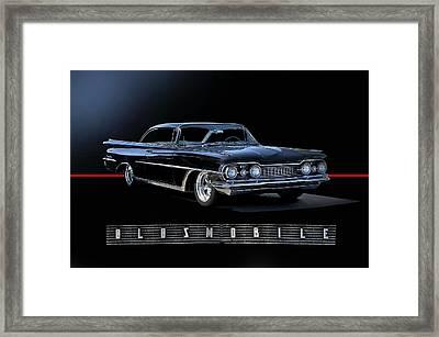 1959 Oldsmobile Custom I Framed Print by Dave Koontz
