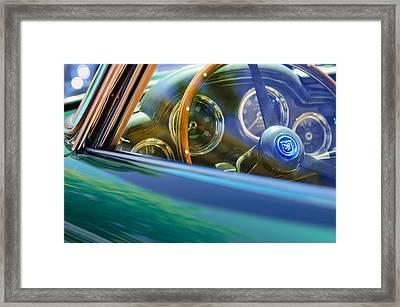 1960 Aston Martin Db4 Series II Steering Wheel Framed Print