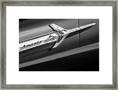 1960 Chevrolet Impala Side Emblem Framed Print by Jill Reger