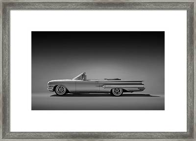 1960 Impala Convertible Coupe Framed Print by Douglas Pittman