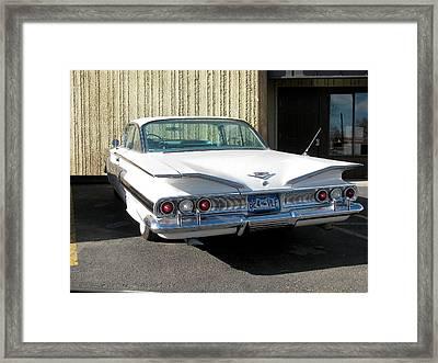 1960 Impala Framed Print