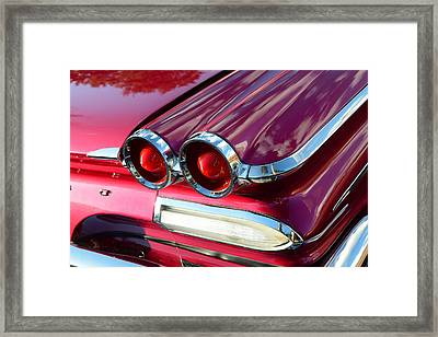 1960 Jet Engine Styling Framed Print by David Lee Thompson