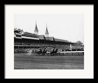 Kentucky Derby Framed Prints