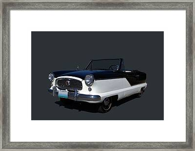 1960 Nash Metropolitan Framed Print by Tim McCullough