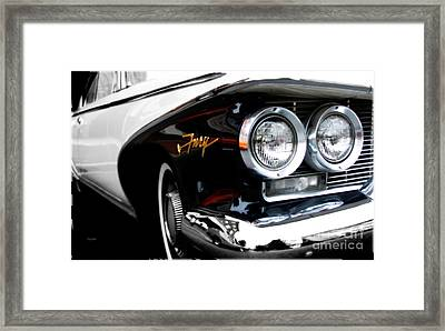 1960 Plymouth Fury  Framed Print by Steven Digman