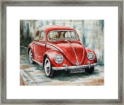 1960 Volkswagen Beetle 2 Framed Print