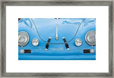 1960 Volkswagen Porsche 356 Carrera Gs Gt Replica  Framed Print