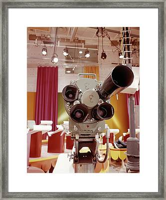 1960s Close Up Frontal View Of Multi Framed Print
