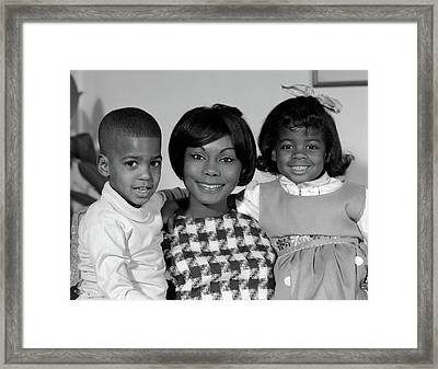 1960s Portrait Of African American Framed Print
