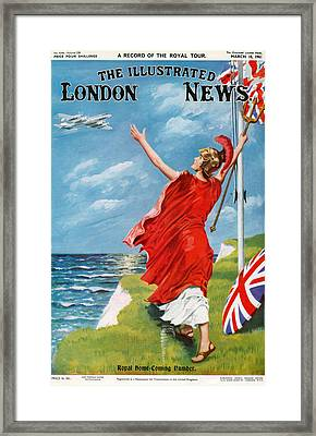 1960s Uk Illustrated London News Framed Print by The Advertising Archives
