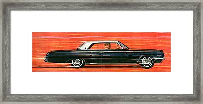 1960s Usa Buick Magazine Advert Detail Framed Print by The Advertising Archives