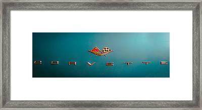 1961 Chevrolet Corvette II Framed Print by David Patterson