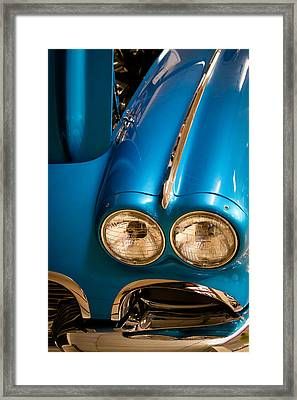 1961 Chevrolet Corvette IIi Framed Print by David Patterson