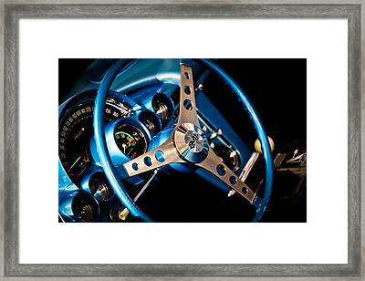 1961 Chevrolet Corvette Iv Framed Print by David Patterson