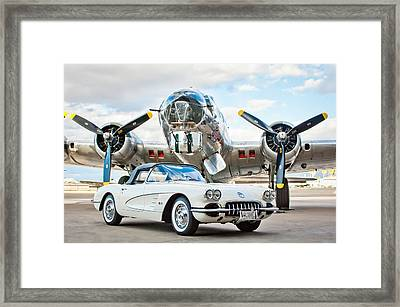1961 Chevrolet Corvette Framed Print