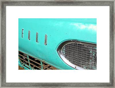 1961 Ford Falcon Van 5d26540 Framed Print