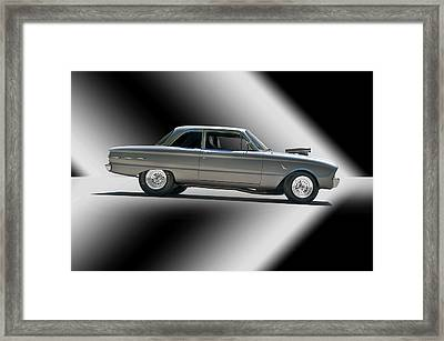 1961 Ford 'normally Aspirated' Falcon Framed Print by Dave Koontz