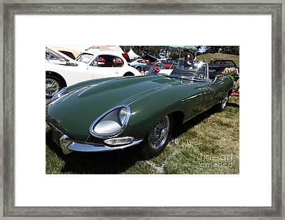 1961 Jaguar Xke Roadster 5d23323 Framed Print by Wingsdomain Art and Photography