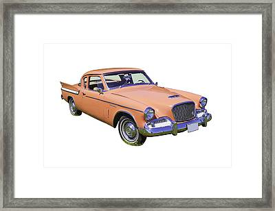 1961 Studebaker Hawk Coupe Framed Print