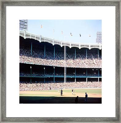1961 World Series Framed Print by Retro Images Archive