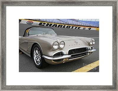 1962 Chevy Corvette Framed Print
