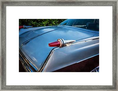 1962 Chrysler Imperial Crown Painted  Framed Print by Rich Franco