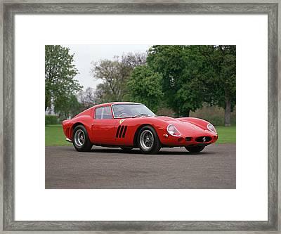1962 Ferrari 250 Gto Scaglietti Framed Print