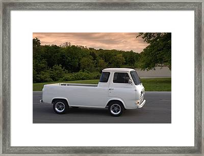 1962 Ford Econoline Pickup Truck Framed Print by Tim McCullough