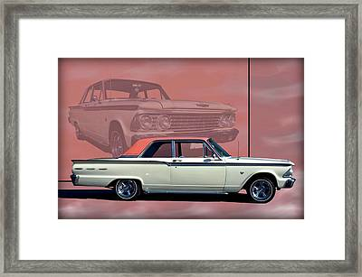 1962 Ford Fairlane 2 Door Sports Coupe Framed Print by Tim McCullough
