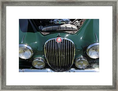 1962 Jaguar Mark II 5d23327 Framed Print by Wingsdomain Art and Photography