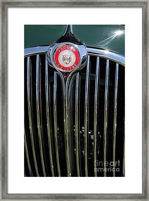 1962 Jaguar Mark II 5d23329 Framed Print by Wingsdomain Art and Photography