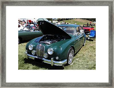 1962 Jaguar Mark II 5d23332 Framed Print by Wingsdomain Art and Photography